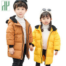Winter Children Coat Baby boys Warm Down Jacket Kids Fashion Outerwear Children's Christmas Costume Dress For girls coat(China)