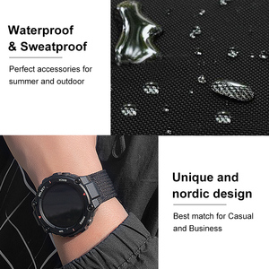 "Image 4 - 2020 חדש נאט""ו ספורט סגנון שעון רצועת מיוחד עיצוב עבור Amazfit T רקס t rex Smartwatch"