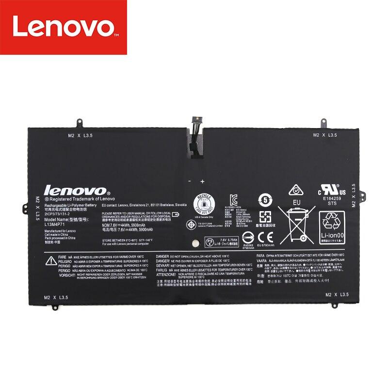 Original Laptop Battery For Lenovo Yoga 3 Pro 1370 L13M4P71 L14S4P71 45N1090 45N1091 45N1089  7.6V 44wh 5900mAh