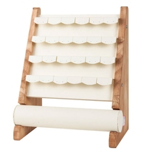 Деревянный органайзер для ювелирных изделий стенд реквизит Серьги Браслет открытый шкаф
