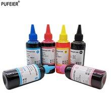 100ml Water Dye Based Ink Bottles Refill Kits Vivid Color For Epson 6 Bottles Desktop Inkjet Printer BK C M Y LM LC