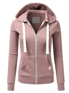 2020 WOMEN  NEW Personality Sports Cardigan Zipper Women's Hooded Sweater Sweater  Spring And Autumn New