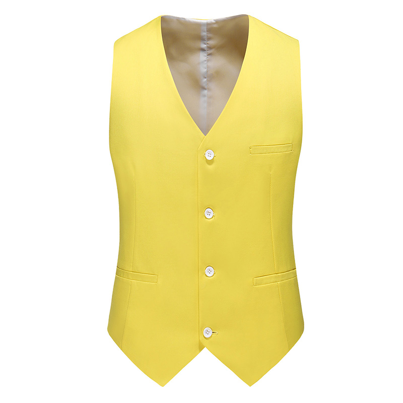 s-w Chaleco summer-winter talla XL Negro//Amarillo