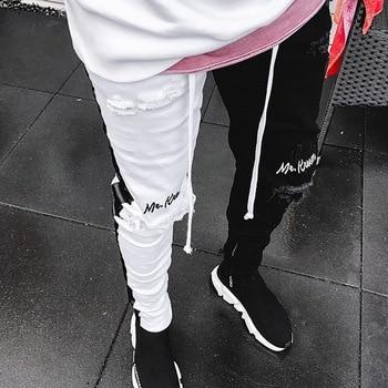 Pantalones Vaqueros 2 Colores Elasticos Para Hombre Pantalones Vaqueros Cenidos Solidos Pantalones Vaqueros De Motorista Informal Para Hombre Pantalon De Hip Hop Callejero Vintage Pantalon Pitillo 2021 Ropa Ecologica