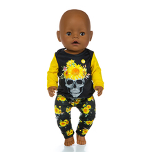 New Jumpsuit Fit For 43cm Doll 17inch Reborn Doll Clothes, Children's Doll Halloween Gift