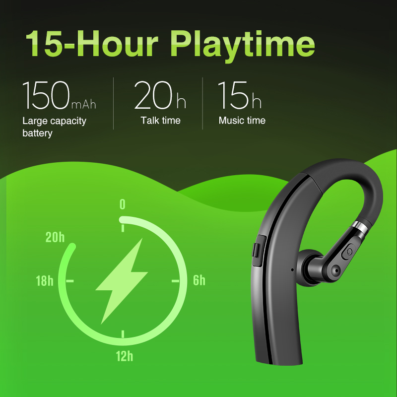 lowest price SANLEPUS M11 Bluetooth Earphone Wireless Headphones Handsfree Earbud Headset With HD Microphone For Phone iPhone xiaomi Samsung