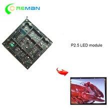 Módulo de matriz P2.5, precio más barato, pantalla de publicidad a todo color, panel led 160X160