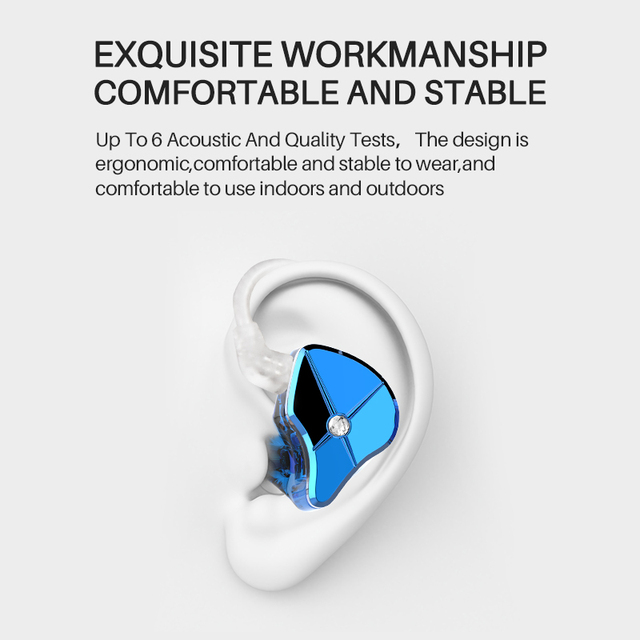 TFZ QUEEN LTD HiFi Audio Dual Cavity Dynamic Driver In-ear Earphone 2 Pin 0.78mm Detachable Cable 3rd Generation Tesla Unit 2