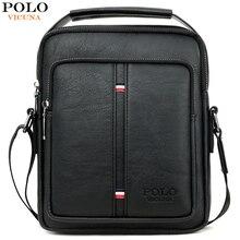 VICUNA POLO Classic Simple Design Man Crossbody Bag High Quality Brand Men's Messenger Shoulder Bags Handbag For Men Sling Bags