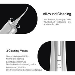 Image 3 - Choix portatif dirrigateur de dent orale de Flosser à eau pour nettoyer la cavité buccale Flosser dentaire de Jet deau de décapant dentaire pour nettoyer des dents