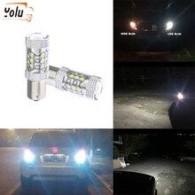 YOLU Car Led Light High Power Lights Bulb 1156 80W Reversing Lamp Backup Lamps Fog Turn Signal