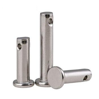 GB882 304 stainless steel Dowel pin flat headed cylindrical pin M6 M8 M10 Pin dowel with hole dowel pin dowel pins steel dowel steel -