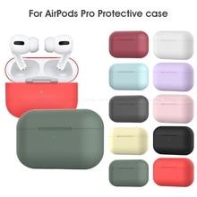 ТПУ силиконовый чехол для Apple Airpods Pro Чехол для наушников чехол для AirPods 3 чехол Беспроводная Bluetooth гарнитура чехол противоударные сумки