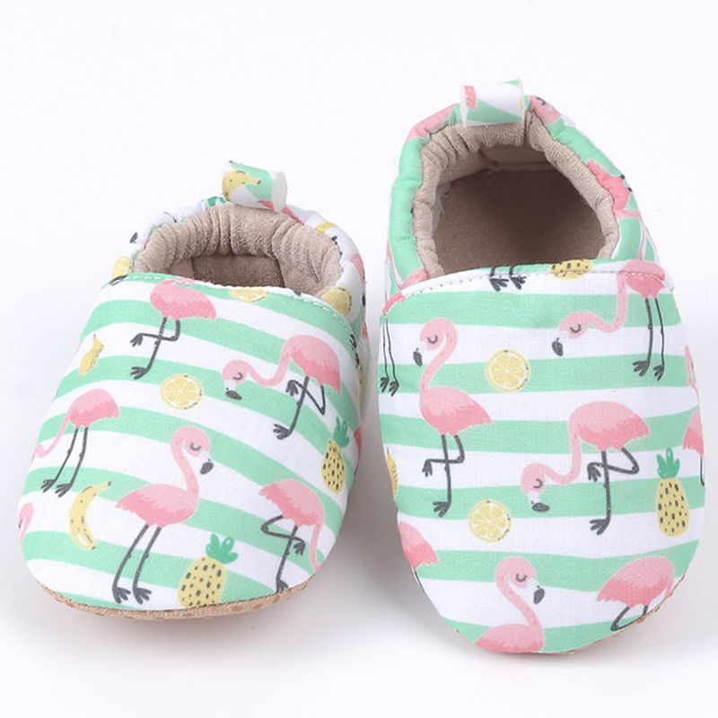 Baby Girls Boys Breathable Anti-Slip Casual Cartoon Animal Sneakers Toddler Soft Soled Walking Shoes 0-18M Autumn Shoes