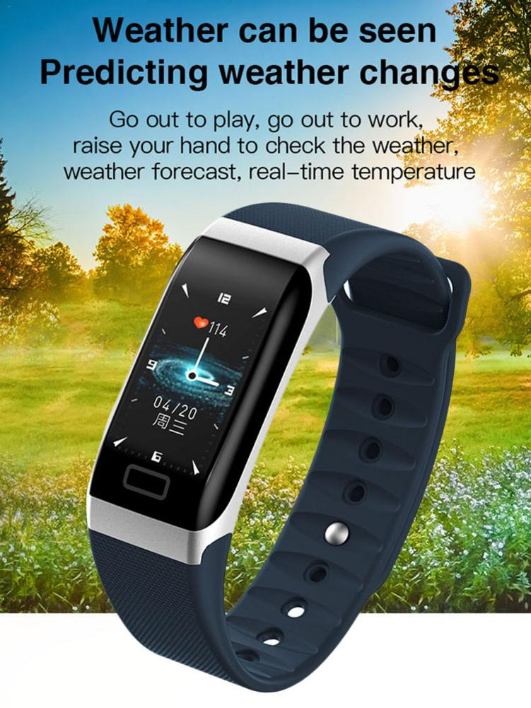 <font><b>R7</b></font> <font><b>Smart</b></font> Bracelet Dynamic UI Color Screen Heart Rate Blood Pressure Monitoring Super Long Standby Time Waterproof Sports <font><b>Watch</b></font> image