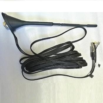 Wysokiej jakości uniwersalne Radio antena samochodowa antena Radio samochodowe antena wzmocniona DAB + FM Radio antena samochodowa antena akcesoria samochodowe 2020 tanie i dobre opinie Anteny 220g
