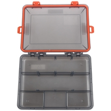 цена на 11 Compartments Waterproof Fishing Tackle Box Fishing Lure Spoon Hook Bait Storage Case Utility Box Carp Fishing Accessories