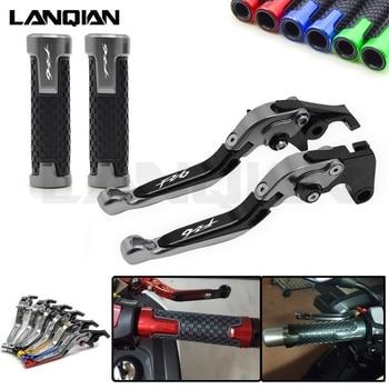 цена на For YAMAHA FZ6 FAZER FZ6R Motorcycle Brake Clutch Levers & handlebar Handle bar Grips FZ 6 2004-2010 FZ 6R 2009-2015 Accessories