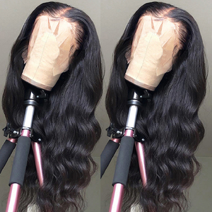 Aircabin Body Wave HD Lace Wigs 30 Inch 13x6 Type T Transparent Lace Wig Glueless Brazilian Remy Human Hair Lace Wigs For Women(China)
