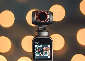 Image 2 - Freewell Bright Day – 4K Series – 4Pack ND8/PL, ND16/PL, ND32/PL, ND64/PL Camera Lens Filters for DJI Osmo Pocket, Pocket 2