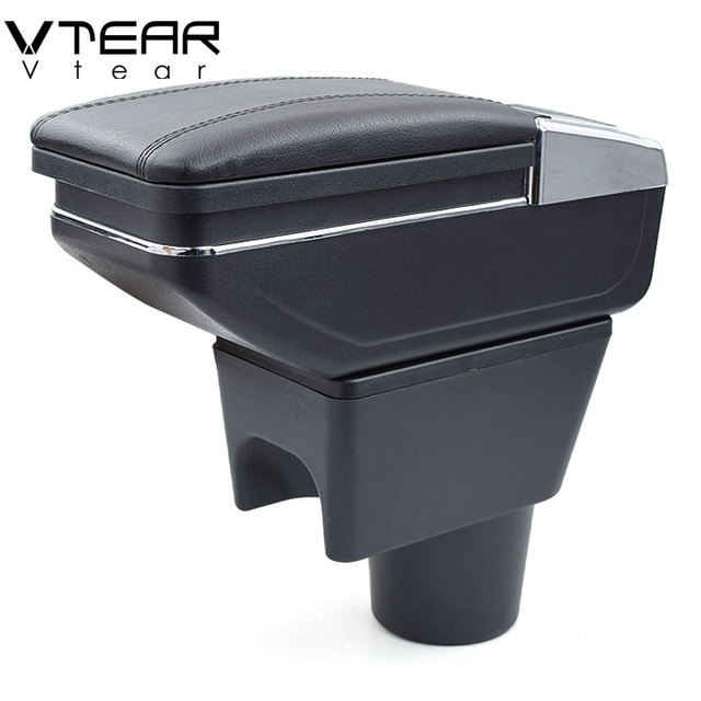 Vtear For renault dacia duster armrest box interior Storage central content box car styling decoration Accessories 2010 2015