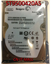 Seagate Momentus 7200,4 ST9500420AS 500GB 7200 RPM 16MB Cache SATA 3,0 Gb/s 2,5 interno disco duro portátil