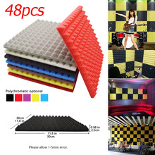 Sound-Insulation Soundproof-Panels Acoustic Foam Fireproof Pyramid Studio Silencing BEIYIN