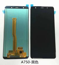 For Samsung Galaxy A7 2018 A750 A750F SM A750F A750FN A750G LCD Display+Touch Screen Digitizer Assembly Free Tools