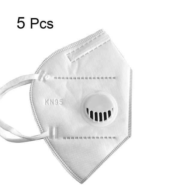 10PC KN95 Face Mask Anti  Anti-pollution Dust-proof Mesh Mouth Masks Protection Outdoor Face Mask Safe Breathable Mask