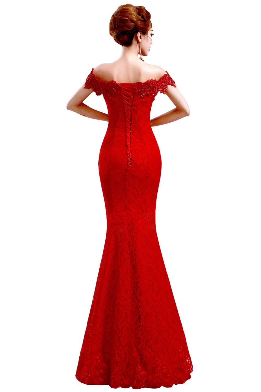 Misshow Русалка вечернее платье Розовое Кружевное длинное вечернее платье Элегантное с открытыми плечами без рукавов robe de Soiree