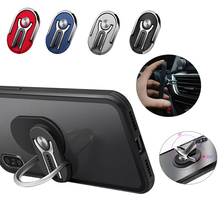 Universal Finger Ring Car Phone Holder Air Vent Mount Stand For iPhone 360 Rotating Metal Cell Smart Phone Stand Holder Car Ring holder universal mobile phone ring metal magnetic finger grip stand stent bracket for iphone samsung car mount