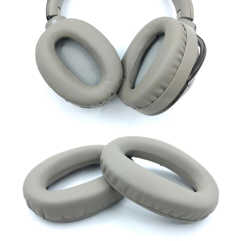 Soft Protein Leather Earpads Replacement Ear Pads Ear Cushion For SONY <font><b>MDR</b></font>-<font><b>1000X</b></font> <font><b>MDR</b></font> <font><b>1000X</b></font> WH-1000XM2 Headphones 634A image
