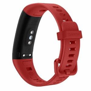 Image 4 - מקורי Huawei להקת 4 פרו GPS חכם להקת מתכת מסגרת צבע מסך מגע דם חמצן לשחות קצב לב חיישן שינה צמיד