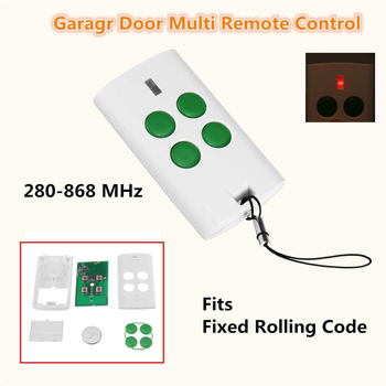 Garage Remote Control Garage Command Transmitter 280mhz 868mhz remote control duplicator gate door control rolling code opener the best somfy 433 42mhz remote control duplicator somfy rts garage door opener controle somfy gate opener handheld transmitter