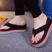 wholesale woman slippers 2020 new muffin slippers thick bott