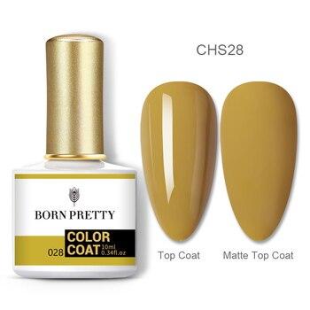 BORN PRETTY Nail Gel 120Colors 10ml Gel Nail Polish Soak Off UV LED Gel Varnish Holographics Shining Nagel Kunst Gellack 107