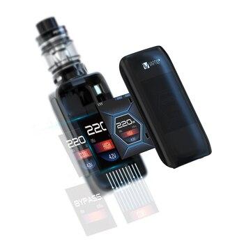 【Last 1 Heure Sale】Original Vaptio Boîte Mod Starter Kit Vaporisateur Mur Chenille Kit Cigarette Électronique Ironclad Kit 50W Batterie