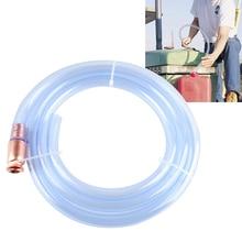 6 футов Syphon водяной бензиновый шланг автомобильный Топливный Газ самозаправляющийся ПВХ безопасный насос бензин/топливо/вода шейкер сифон самозаправляющийся шланг