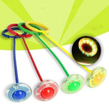 1pc Jumping Ball Fitness Toys sponge Ring Dancing Single Foot Shot Bouncing For Children