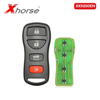 Xhorse XKNI00EN VVDI for NISSAN 4 Buttons Key 10 pcs/lot