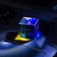 Оптический colorprism127 мм шестигранный яркий светильник ледяной