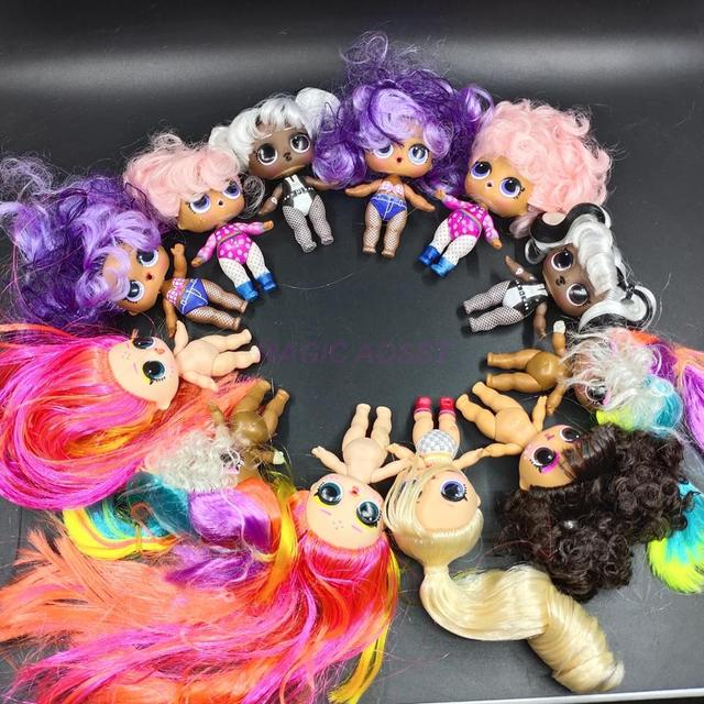 LOL surprise doll series 5 nude dolls can choose children's gift toys 3