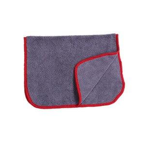 Image 4 - Chiffon de séchage en microfibre à poils longs, serviette Super absorbante sans tourbillon pour fenêtre de peinture, haute Performance de teinture, 40x60cm