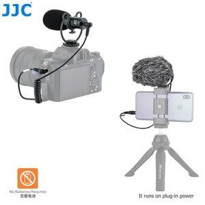 Image 3 - JJC Cardioid Microphone Cho Máy DSLR Máy Ảnh Không Gương Lật Video Máy Quay Phim Điện Thoại Máy Tính Bảng Đầu Ghi Micro Cho Vlogger Cuộc Phỏng Vấn