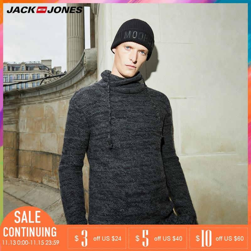 Jack Jones Men Thicken Autumn Winter Pullover  Turtle Neck Sweater |218325508