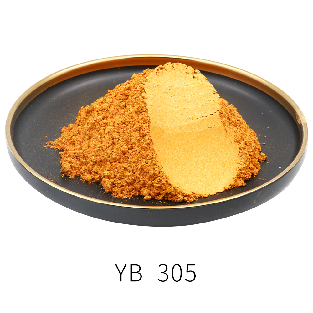 Gold Color Pearl Powder Pigment 50g Dye Ceramic Powder Paint Coating Automotive Arts Crafts Mica Powder Pigment Gold Powder