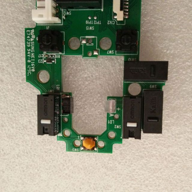 Repair Parts Mouse Motherboard Mouse Circuit Board for Logitech G502 RGB Edition Mouse 1