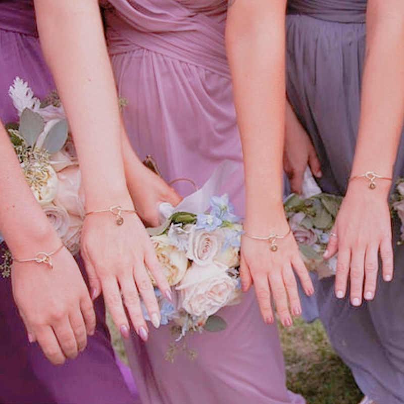 ฝักบัวสร้อยข้อมือวันโรแมนติกของที่ระลึกแฟน Party Favors ของขวัญเริ่มต้นนำเสนอเพื่อนเจ้าสาวงานแต่งงานผู้เข้าพักวาเลนไทน์