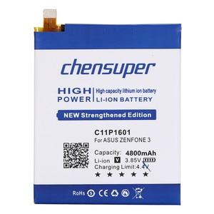 Image 3 - chensuper 4800mAh C11P1601 Battery For ASUS ZENFONE 3 Battery ZENFONE3 ZE520KL Z017DA For ZenFone live ZB501KL A007 Batteries