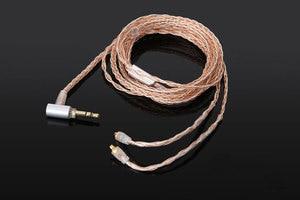 8-core 2.5/3.5/4.4 braid BALANCED Audio Cable For Westone ES30 ES40 ES50 ES60 ES80 earphones
